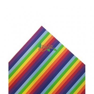 Goma Eva Rayado Y Multicolor  (42x52) X  1.6 Cm