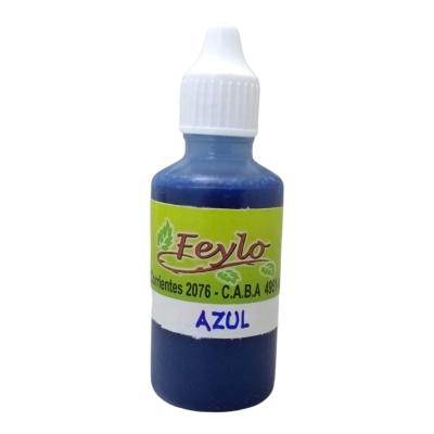 Colorante Jabon  X 30 Cc Azul