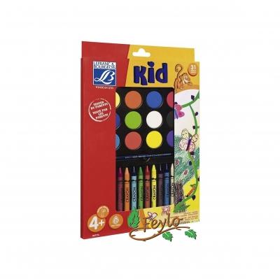 Kit L&b Creative (acuarela + Crayones)