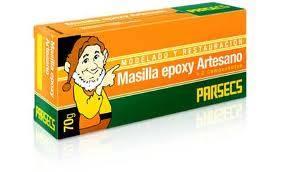 Masilla Epoxy Parsecs Estuche De 70 Gs