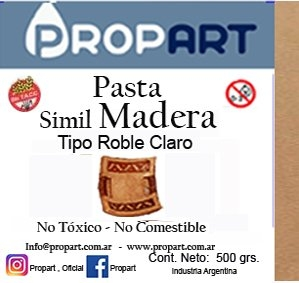 Pasta Madera X 500 Grs