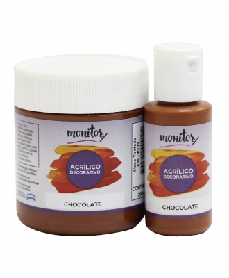 Acrilico Decorativo Monitor 200cc Chocolate    835
