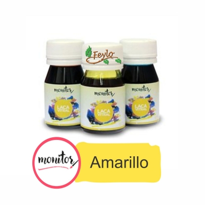 Laca Vitral 30cc Amarillo  Monitor