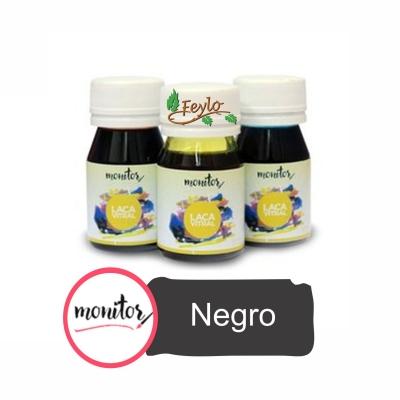 Laca Vitral 30cc Negro Monitor