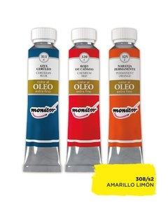 Oleo Monitor   20cc Amarillo Limon  S2 308