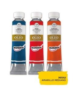 Oleo Monitor   20cc Amarillo Medio S2 307