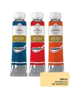 Oleo Monitor   20cc Amarillo Napoles S1 305