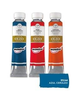 Oleo Monitor   20cc Azul Ceruleo S4 311