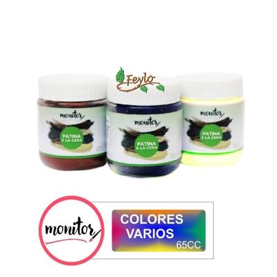 Patina Monitor Cera X 65 Cc Colores Varios