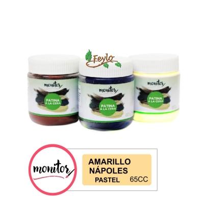 Patina Monitor X 65 Cc Pastel Amarillo Napoles