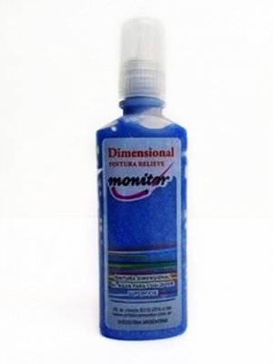 Dimensional 40cc Azul Cristal Glit Monitor