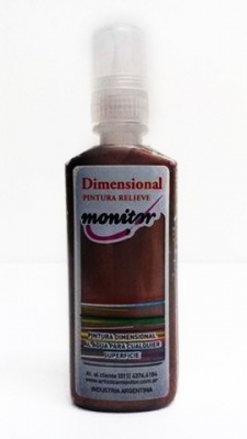 Dimensional 40cc Cobre Antiguo Metal. Monitor