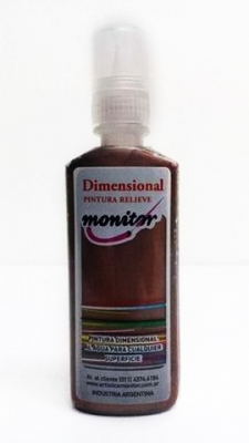 Dimensional 40cc Cobre Metal. Monitor