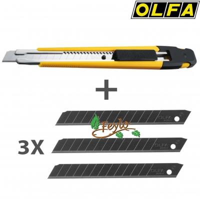 Cuchilla 9mm C/4 Repuestos Diferentes A-1/3bb