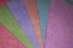 Hojas De Papel Batik A 4 X 10 Un. ( 25 Colores)