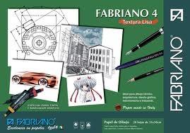 Block Fabriano 4   24x34cm  Rugoso 20 Hojas