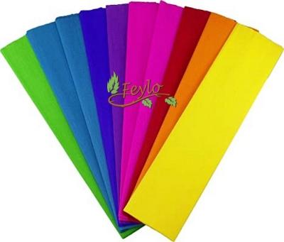 Papel Crepe Color Liso X Unid