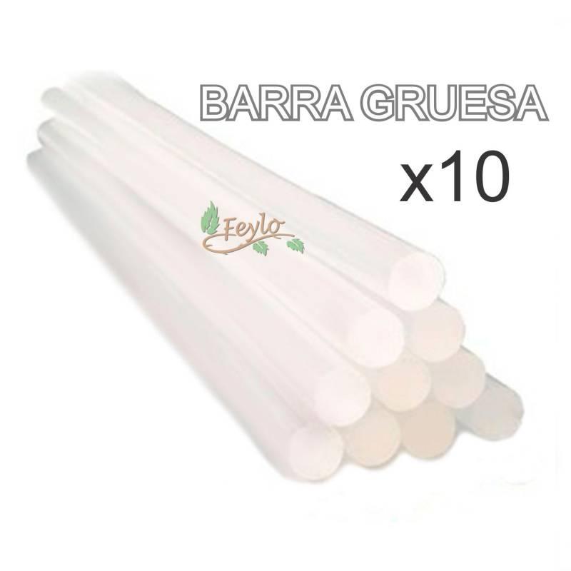 Promo Silicona Pegamento En Barra Gruesa X 10