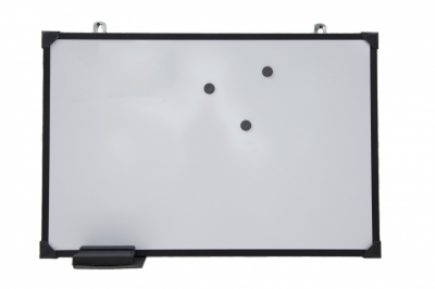 Pizarra Mp Blanca 60x80 Super Eco (marco Negro)