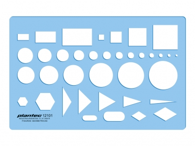 Plantillas Plantec Figuras Geométricas