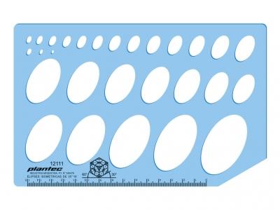 Plantillas Plantec Elipses Isométricas