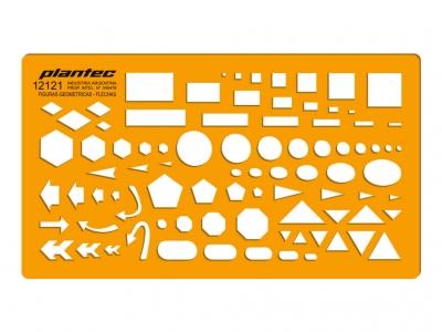 Plantilla Figuras Geométricas - Flechas