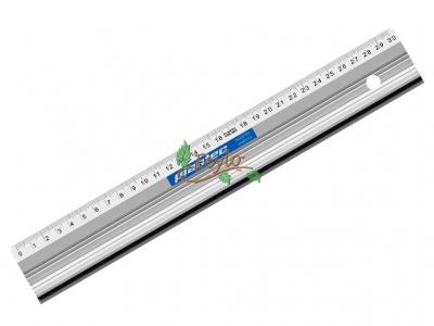 Reglas Aluminio Con Perfil Para Corte 30 Cm