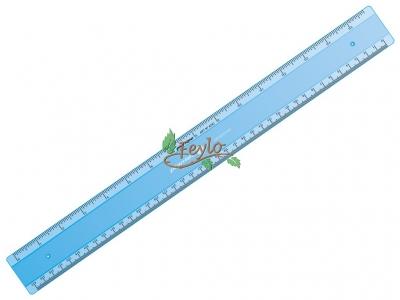 Regla  Técnica Largo 40 Cm