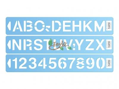 Letras Y Numeros Helvetica Pvc 60 M