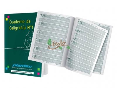 Cuaderno De Caligrafia Plantec Nº1