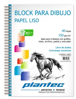 Block Cuaderno Anillado Lateral A5 150 Grs X 40 Hojas