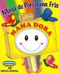 Porcelana Mama Dora Paquete 1/2 Kg Blanca X Caja 20 Un.