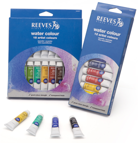 Set Acuarela X 12 Colores - Pomo 12 Ml