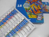 Set Acuarela X 18 Colores - Pomo 12 Ml