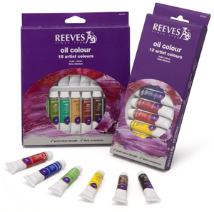 Set Oleo X 18 Colores - Pomo 12 Ml