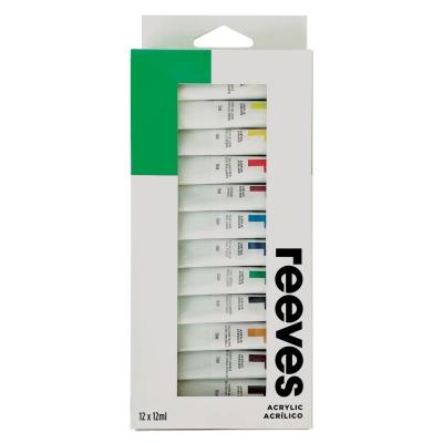Set Acrílicos X 12 Colores - Pomo 12 Ml