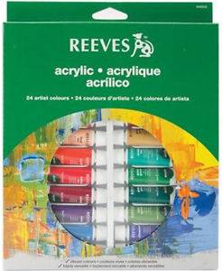 Set Acrilicos X 24 Colores - Pomo 12 Ml