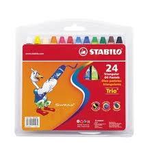 Oleo Pasteles Trio X 24 Colores