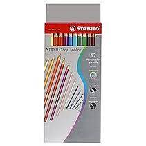 Lapices Aquacolor Estuche De Carton X 12 Largos