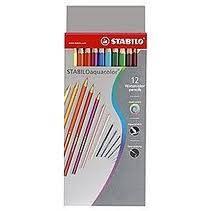 Lapices Aquacolor Estuche De Carton X 24 Largos