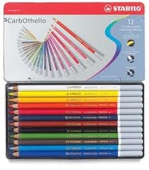 Lapices Carbothello Lata X 12 Colores