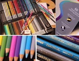 Lapices Carbothello Lata X 60 Colores (c/ Acc.)