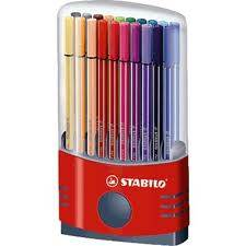 Marcador Pen 68 Color Parade Estuche X 20