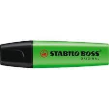 Resaltador Boss Verde