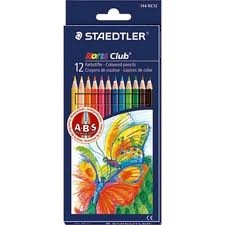 Staedtler Lapiz Color X12 Largos