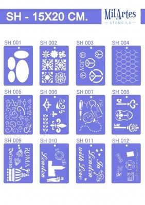 Stencil Sh 15x20