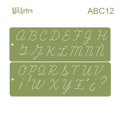 Stencil Abc 12 (3 Cm)