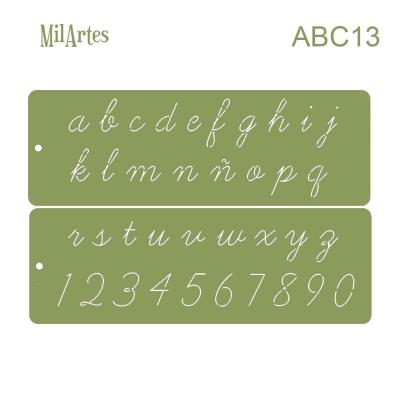 Stencil Abc 13 (2 Cm)