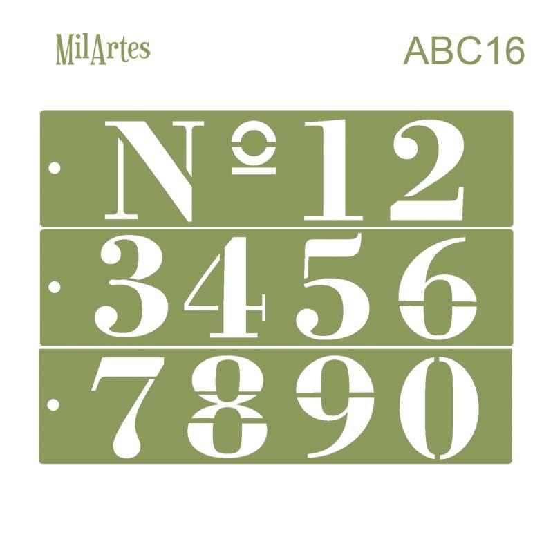 Stencil Abc 16 (nº 6.5 Cm)