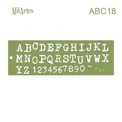 Stencil Abc 18 (2 Cm)